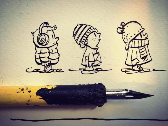 Tiny & cold.